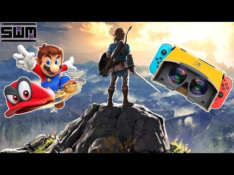 Nintendo Is Putting Zelda Breath of the Wild And Mario Odyssey In VR
