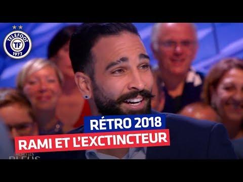 Rétro 2018 : Adil Rami et l'extincteur après France - Argentine