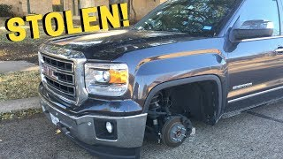 WHEEL THEFT PREVENTION TIPS | My Factory 20's were STOLEN!