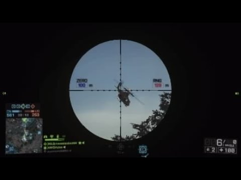 Battlefield 4 .50 vs chopper passengers.