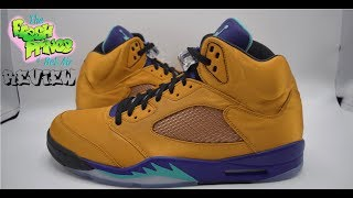 FRIENDS & FAMILY FRESH PRINCE AIR JORDAN 5 REVIEW | EXCLUSIVE 1 OF 23 WILL SMITH AIR JORDAN V SAMPLE