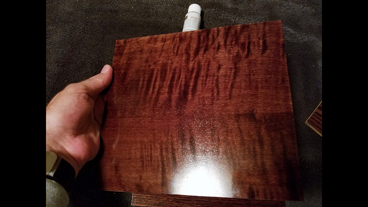 Brown dyes using liquid wood dye to make