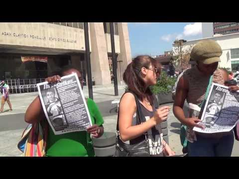 RUSSIAN (Leah) & Yaya Spoke At Trayvon Martin Protest led by Revolutionary Communist Party, USA--RR