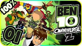 Ben 10 Omniverse 2 Walkthrough Part 1 (PS3, X360, Wii, WiiU) Intro + Level 1 [100%]