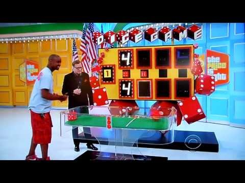 The Price is Right - Dice Game - 11/11/2013