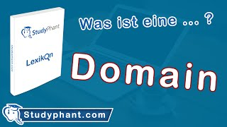 Lexikon: Was ist eine Domain? | studyphant.com