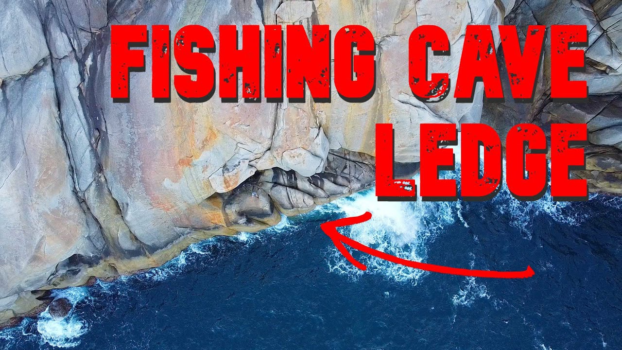 FISHING A CAVE ON A CLIFF