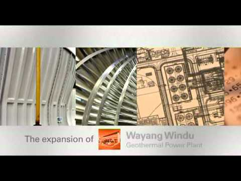 Wayang Windu Geothermal Power Plant #1 Travel Video