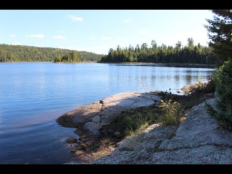 September 16-18, 2019 Temagami Area Fishing Trip - Tree Tent & Drone