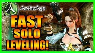 Archeage Fast Powerleveling Leveling 2016 Gameplay Part 2