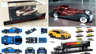NEWS: Tarmac Works BMW M3 E30, Hot Wheels RLC 2018 Fuguz, M2 Machines Auto Hauler & more