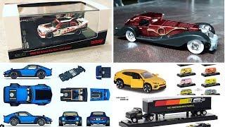 NEWS: Tarmac Works BMW M3 E30, Hot Wheels RLC 2018 Fuguz, M2 Machines Auto Hauler & more