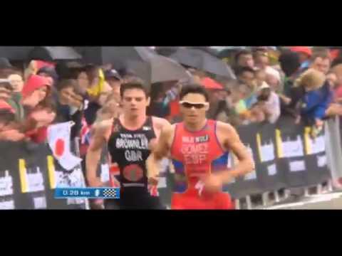 final al sprint del triatleta javier gmez noya en londres