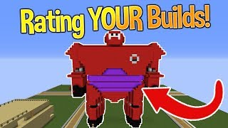 Minecraft: Rating YOUR Builds! #3