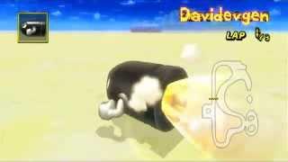 Mario Kart Wii ~  No water gcn peach beach (& more)