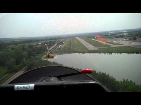 Great Glider Landing at Boulder Municipal Airport