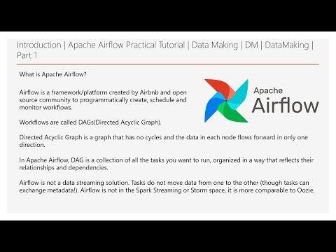 Introduction   Apache Airflow Practical Tutorial   Part 1   Data Making   DM   DataMaking
