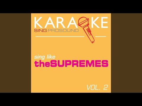 Someday We\'ll Be Together (In the Style of the Supremes) (Karaoke ...