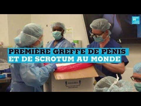 La première greffe de pénis et de scrotum au monde réalisée aux Etats-Unis