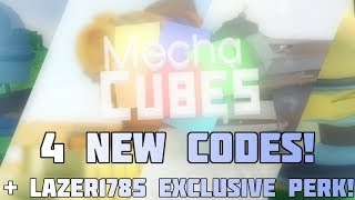 Mechacubes all codes
