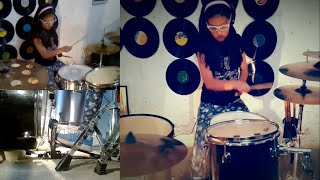 korn coming undone (drum cover) 8 years old