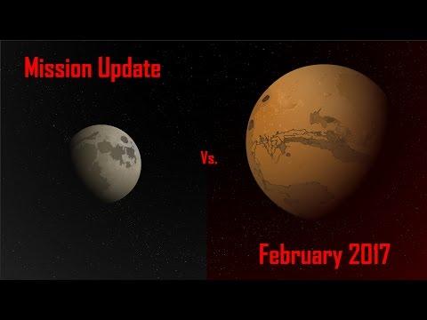 Mars Mission Update: February 2017