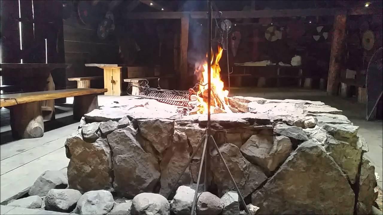 Marvelous Viking Fireplace Part - 1: Viking Fireplace #1 🔥