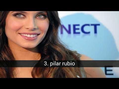 las 12 mujeres mas guapas de España
