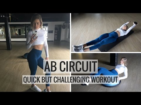 AB WORKOUT   Quick Core Circuit Training