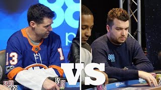 David Tuchman vs Chris Moorman at 888poker Live in London Cash Game