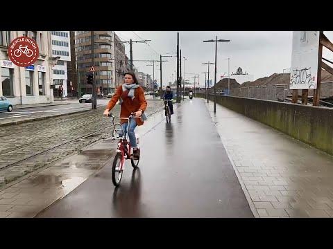 Cycling in Antwerp