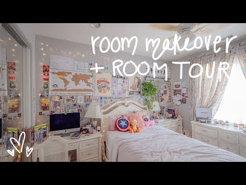 REVAMP MY ROOM + Room Tour