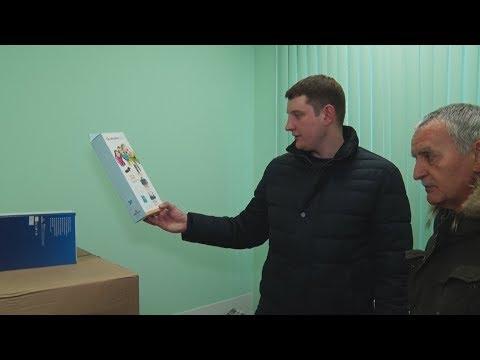 ТВЭл - Глава осмотрел здание детской поликлиники после ремонта (02.02.18)