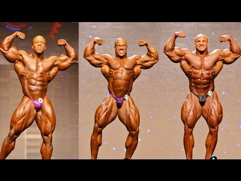 Mr. Olympia All Winners  (1965-2015)