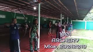 """Archery """"1801 Archery- Routine"""""""