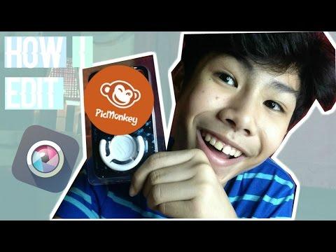 HOW I EDIT MY YOUTUBE THUMBNAIL (TAGALOG)  RenielReyesTV