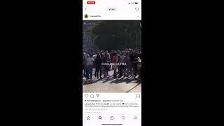Dutch hooligans fight with german hooligans in Amsterdam  Nederland-Duitsland