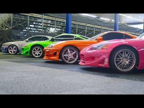 FAST&FURIOUS REUNION!!! (original moviecars)