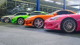 Download FAST&FURIOUS REUNION!!! (original moviecars) Mp3 and Videos