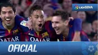 El tridente entierra la crisis: FC Barcelona (3-1) Atlético de Madrid
