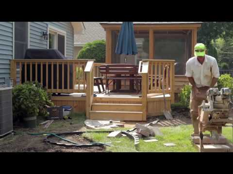 American Artists Landscaping Project Video