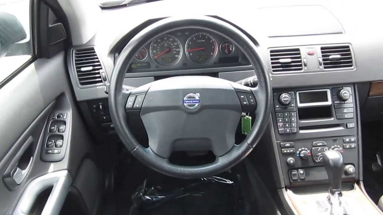2005 volvo xc90 silver stock 6070a interior youtube. Black Bedroom Furniture Sets. Home Design Ideas