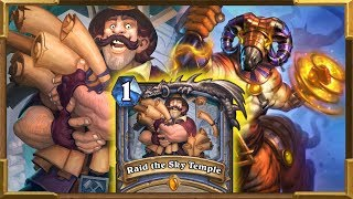 Hearthstone: Quest Mage Is Actually Good?!! Raid the Sky Temple | Saviors Of Uldum New Decks