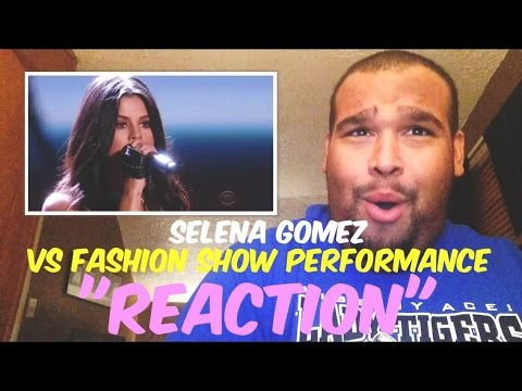 Selena Gomez Victoria's Secret Fashion Show 2015 Performance [REACTION]