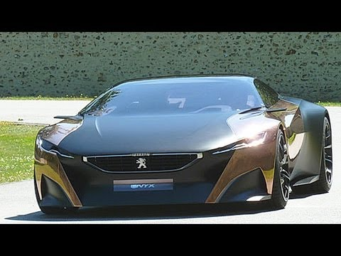Peugeot Onyx Concept Car - GORGEOUS