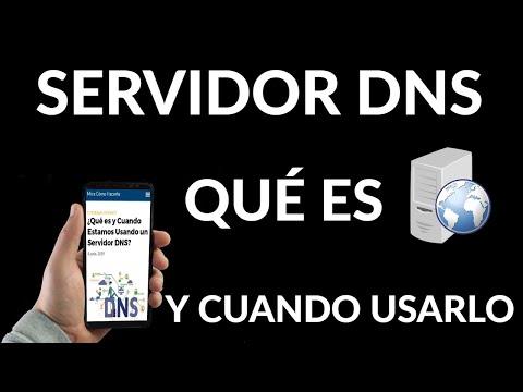 Qué es y Cuando Estamos Usando un Servidor DNS