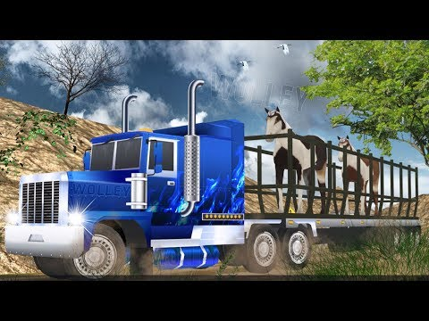 Safari Animals Truck Transport - Android GamePlay HD  - Farm Animals Trucks Games For Kids