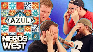 Tiles and Tears - Azul Board Game Play!