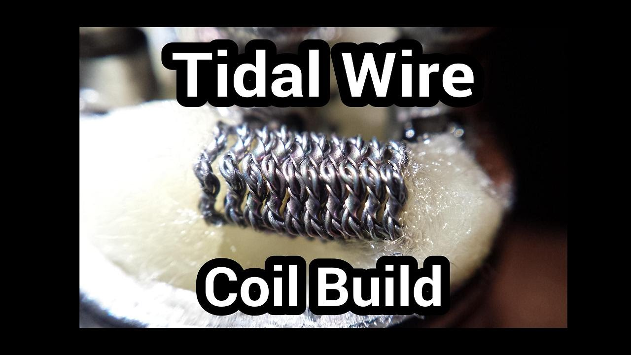 Tidal Wire Coil Build - YouTube