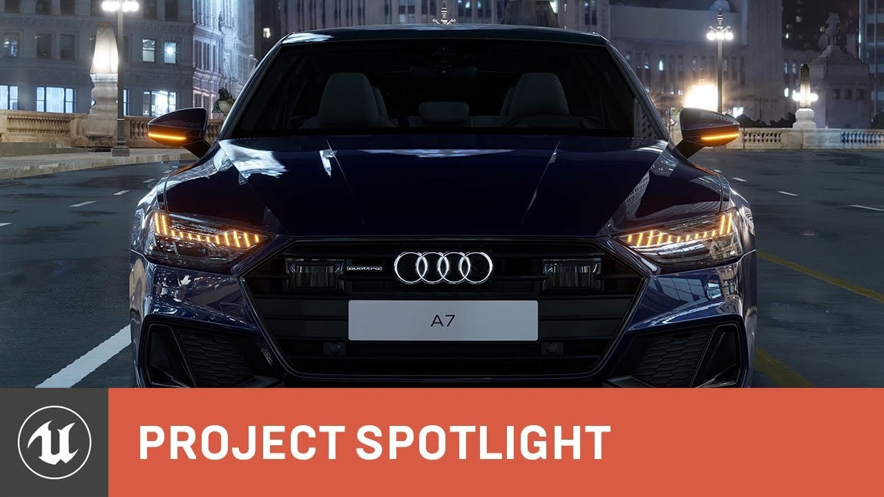Audi and Mackevision create a digital showroom with UE4 | Project Spotlight | Unreal Engine